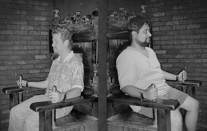 Doug (left) and Ed, San Francisco, CA 1998