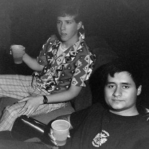 Doug and Ed, 1989 - Syracuse, NY