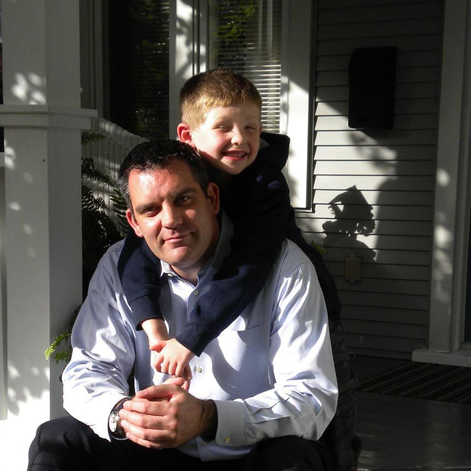 Matt and his son Nathan